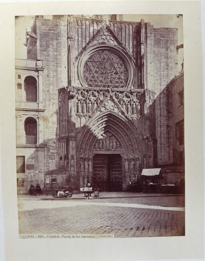 Catedral [Material gráfico]: Puerta de los Apóstoles : VALENCIA