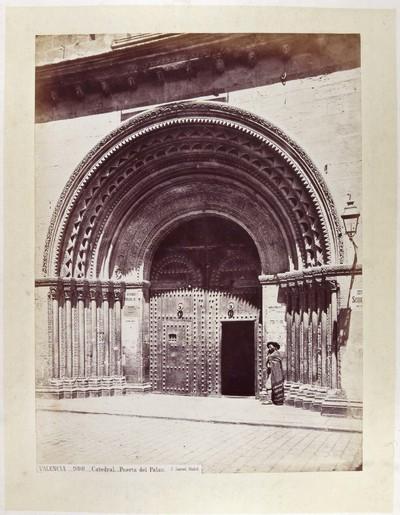 Catedral [Material gráfico]: Puerta del Palau : VALENCIA