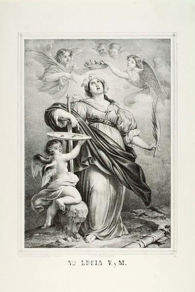 Sta. Lucia V. y M. [Material gráfico] : à 13 de Diciembre