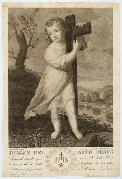 Imagen del niño Jesús [Material gráfico]