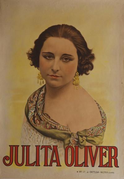 Julita Oliver [Material gráfico].]