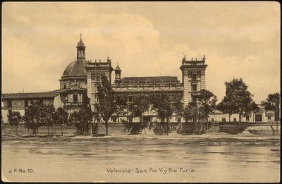 San Pio V. y Rio Turia [Material gráfico]: Valencia.