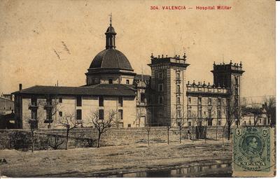 Hospital Militar [Material gráfico]: Valencia.