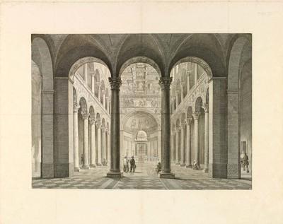 [Nave central de una catedral] [Material gráfico].]