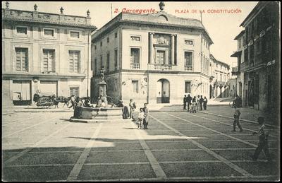 Plaza de la Constitución [Material gráfico]: Carcagente