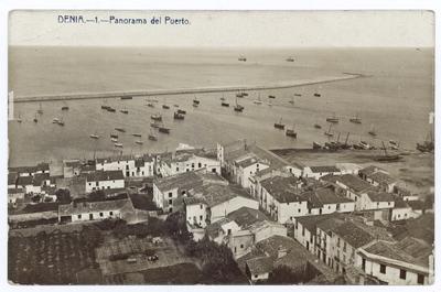 Panorama del Puerto [Material gráfico]: Denia.