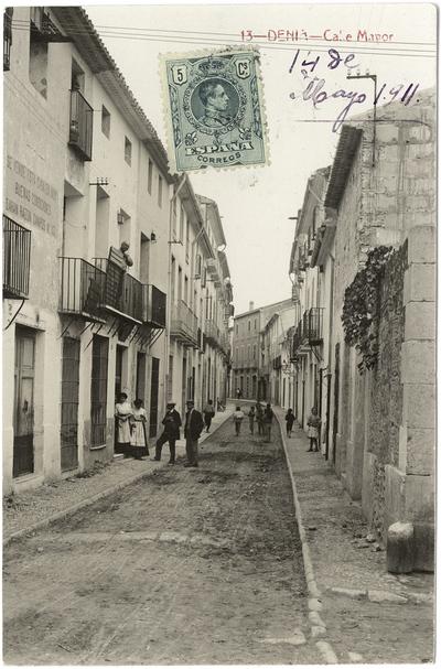 Calle Mayor [Material gráfico]: Denia