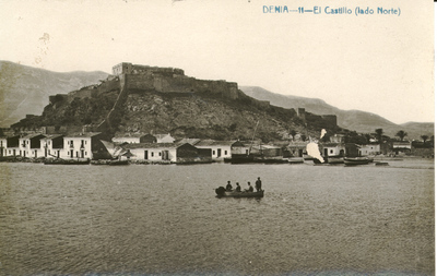 El Castillo (lado norte) [Material gráfico]: Denia.