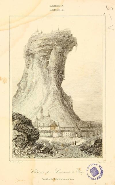 Château de Sémiramis à Van [Material gráfico]= Castillo de Semiràmide en Van