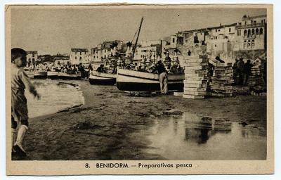 Preparativos pesca [Material gráfico]: Benidorm.