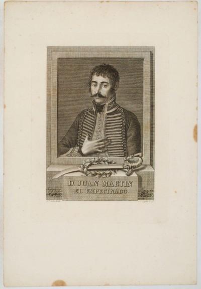 [Retrato de Juan Martín, el Empecinado] [Material gráfico]
