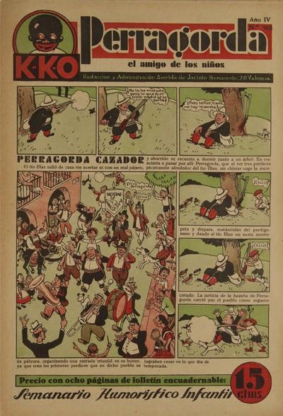 K-K-O Perragorda [Texto impreso]: el amigo de los niños.