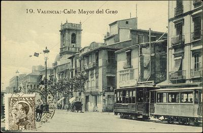 Calle Mayor del Grao [Material gráfico] ]: Valencia.