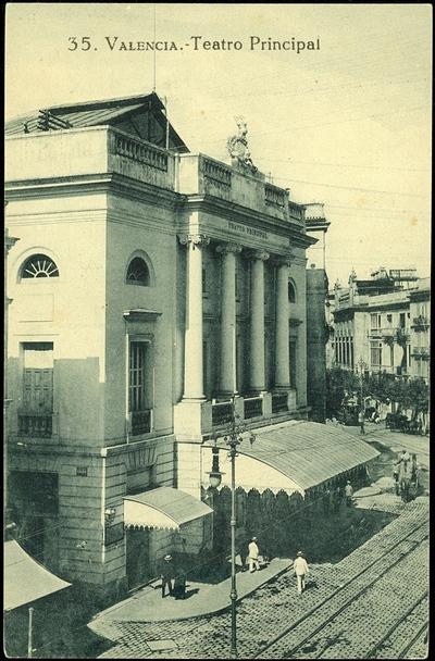 Teatro Principal [Material gráfico] ]: Valencia.