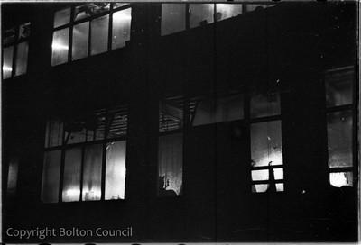 Mill Windows at Night