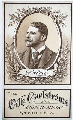 Labori. Från Wilh. Carlströms Cigarrfabrik Stockholm