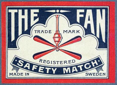 The Fan. Safety match