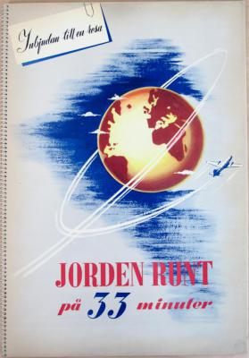 Inbjudan till en resa - Jorden runt på 33 minuter
