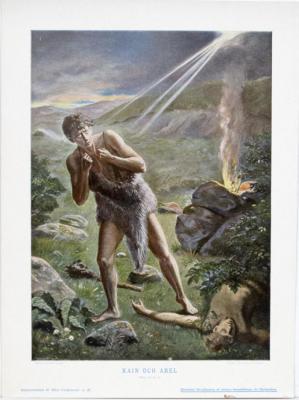 Kain och Abel. 1 Mos. IV, 8-14.