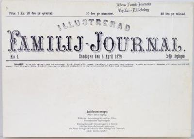 Illustrerad Familje-Journal, Jubileums-mapp Allers 100:e årgång