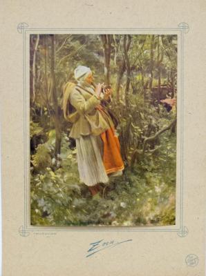 Vårkullan. Julsträmning 1907
