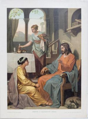 Jesus i Lazarus hem