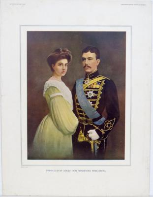 Prins Gustaf Adolf och Prinsessan Margareta