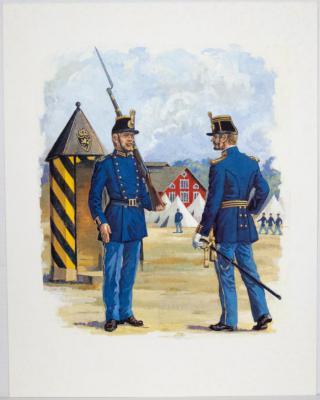 Historiska uniformsmotiv (Titel saknas)