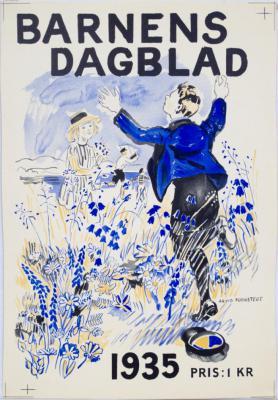 Barnens Dagblad 1935 (Arvid Fougstedt)