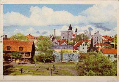 Visby, provtryck