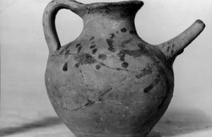 Vas de ceràmica dels segles V-IV a.C.