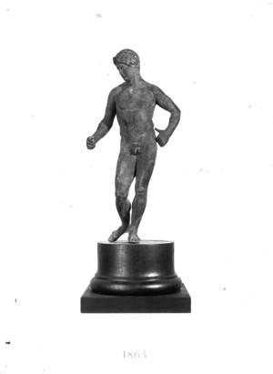 Escultura de bronze.