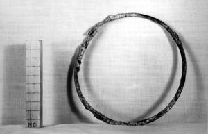 Collar de bronze dels segles V-IV a.C.