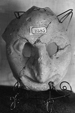 Mascara d'època romana.