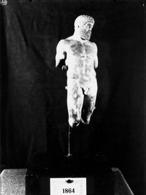 Estatueta de marbre.