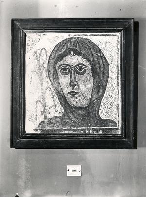 Mosaic d'una dona.