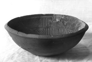 Motllo de ceràmica de terra sigil·lata.