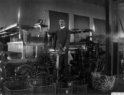 textilindustripersonal, textilindustri