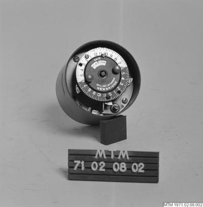 gasmätare, datummätare
