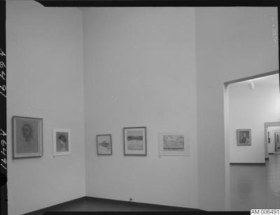 mälningar, målning, finländsk konst, museum, malmö museum, utställningar, museer, tavlor, tillfällig utställning, 1967, utställning, tillfälliga utställningar, konst, tavla, 1960-talet