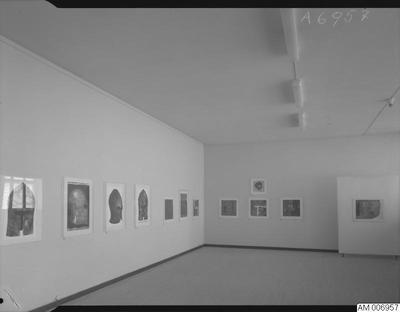 målningar, museer, 1968, utställningar, museum, malmö museum, tillfälliga utställningar, utställning, grafik, konst, tavla, tillfällig utställning, 1960-talet, tavlor, målning, nio grafiker