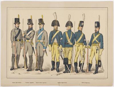 litografi, uniformsplansch, plansch