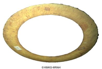 Cirkel in de vorm van een schotelrand