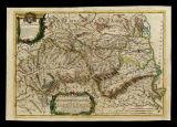 La contea di Rossilione diuisa nella vicaria di Perpignano... e la contea di Cerdagna... da Giacomo Cantelli da Vignola... e data in luce da Gio. Giac. Rossi... 1690; A. Barbey sc.