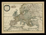 L'Evrope / par le Sr. Sanson d'Abbeville geographe du Roy.  A Paris chez l'autheur et chez Pierre Mariette