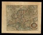 Evropa / ad magnae Europae Gerardi Mercatoris P. imitationem, Rumoldi Mercatoris F. cura edita, ... Duysburghi Cliuorum typis aeneis
