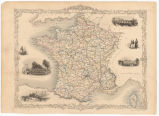 France / drawn & engraved by J. Rapkin