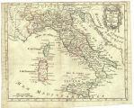 L'Italie divisée en ses différents etats, royaumes et républiques