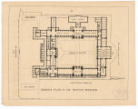 Ground plan of the British Museum