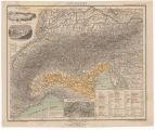 Alpengebiet : Physikalische Karte / Entworfen u. gez. von H. Lange